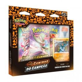 Pokémon TCG: Box Coleção SWSH3.5 Caminho do Campeão - Ginásio de Stow-On-Side