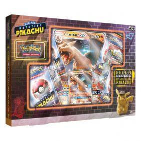 Pokémon TCG: Box Dossiê Charizard-GX de Detetive Pikachu
