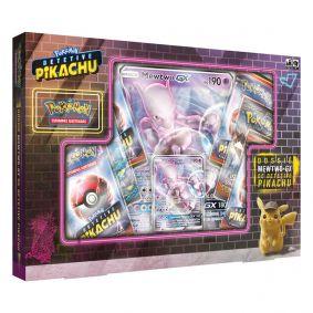 Pokémon TCG: Box Dossiê Mewtwo-GX de Detetive Pikachu