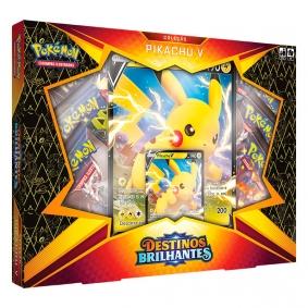 Pokémon TCG: Box SWSH4.5 Destinos Brilhantes  - Coleção Pikachu V