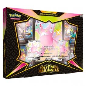 Pokémon TCG: Box SWSH4.5 Destinos Brilhantes  - Coleção Premium Crobat Brilhante VMAX