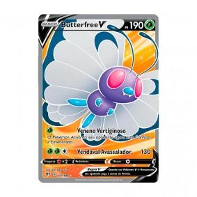 Pokémon TCG: Butterfree V (177/189) - SWSH3 Escuridão Incandescente