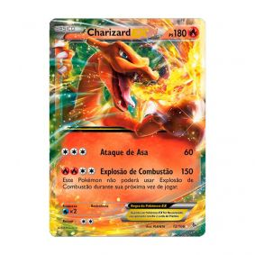 Pokémon TCG: Charizard EX (12/106) - XY2 Flash de Fogo
