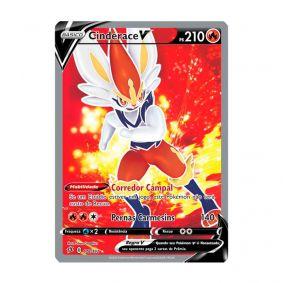 Pokémon TCG: Cinderace V (178/192) - SWSH2 Rixa Rebelde
