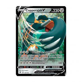 Pokémon TCG: Copperajah V (136/192) - SWSH2 Rixa Rebelde