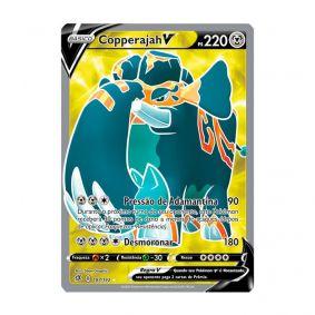 Pokémon TCG: Copperajah V (187/192) - SWSH2 Rixa Rebelde