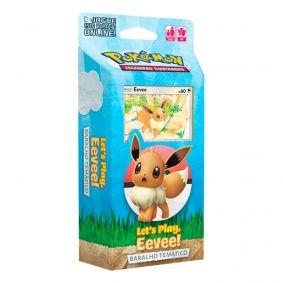 Pokémon TCG: Deck Baralho Temático - Let's Play, Eevee!