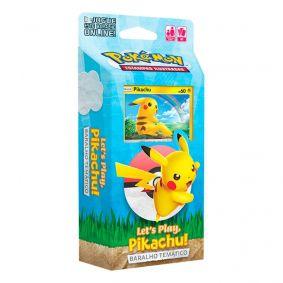 Pokémon TCG: Deck Baralho Temático - Let's Play, Pikachu!
