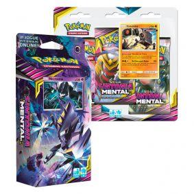 Pokémon TCG: Deck SM11 Sintonia Mental - Laser Focal + Triple Pack Stakataka