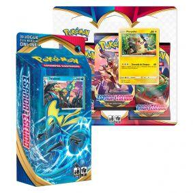 Pokémon TCG: Deck SWSH1 Espada e Escudo - Baralho Temático Inteleon + Triple Pack: Morpeko