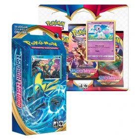 Pokémon TCG: Deck SWSH1 Espada e Escudo - Baralho Temático Inteleon + Triple Pack: Ponyta de Galar