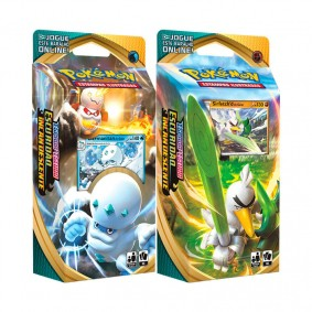 Pokémon TCG: Deck SWSH3 Escuridão Incandescente - Baralho Temático Sirfetch'd de Galar + Darmanitan de Galar