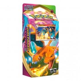 Pokémon TCG: Deck SWSH4 Voltagem Vívida - Baralho Temático Charizard