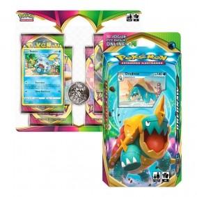 Pokémon TCG: Deck SWSH4 Voltagem Vívida - Baralho Temático Drednaw + Quad Pack Sobble