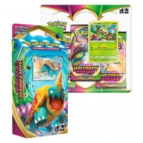 Pokémon TCG: Deck SWSH4 Voltagem Vívida - Baralho Temático Drednaw + Triple Pack Grookey