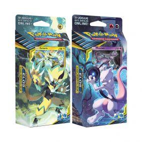 Pokémon TCG: Decks SM10 Elos Inquebráveis - Circuito Fulminante + Batalha Mental
