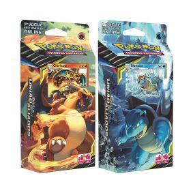 Pokémon TCG: Decks SM9 União de Aliados - Chama Implacável + Canhão Torrencial