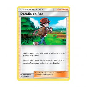 Pokémon TCG: Desafio do Red (184/214) - SM10 Elos Inquebráveis