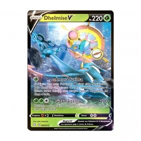 Pokémon TCG: Dhelmise V (9/72) - SWSH4.5 Destinos Brilhantes