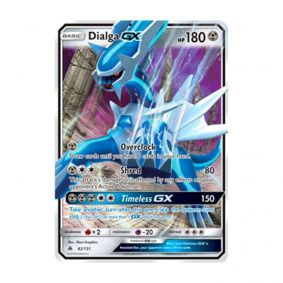Pokémon TCG: Dialga GX (82/131) - SM6 Luz Proibida