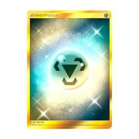 Pokémon TCG: Energia de Metal (163/149) - SM1 Sol e Lua