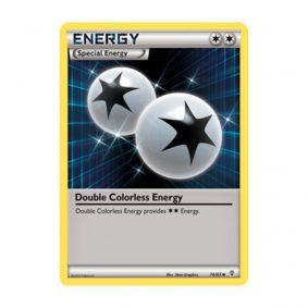 Pokémon TCG: Energia Incolor Dupla (74/83) - Gerações