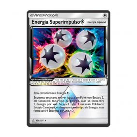 Pokémon TCG: Energia Superimpulso Estrela Prisma (136/156) - SM5 Ultra Prisma