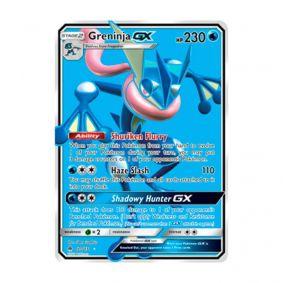 Pokémon TCG: Greninja GX (120/131) - SM6 Luz Proibida