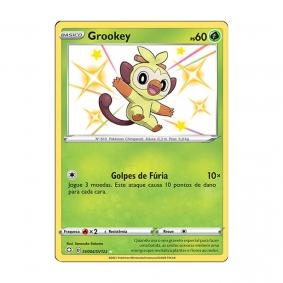 Pokémon TCG: Grookey (SV004/SV122) - SWSH4.5 Destinos Brilhantes