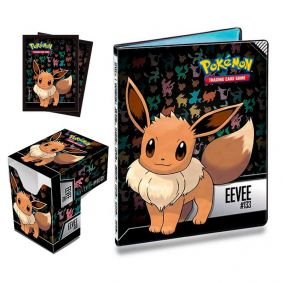 Kit Pasta + Sleeve + Deck Box Oficial Ultra Pro - Pokémon TCG: Eevee
