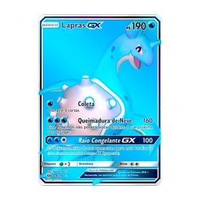 Pokémon TCG: Lapras GX (139/149) - SM1 Sol e Lua