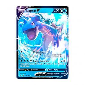 Pokémon TCG: Lapras V (49/202) - SWSH1 Espada e Escudo