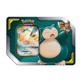 Pokémon TCG: Lata Colecionável Aliados - Eevee e Snorlax GX