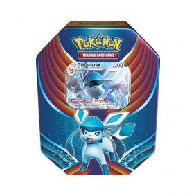 Pokémon TCG: Lata Colecionável Celebração de Evolução - Glaceon GX
