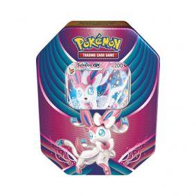 Pokémon TCG: Lata Colecionável Celebração de Evolução - Sylveon GX