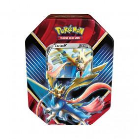 Pokémon TCG: Lata Colecionável Lendas de Galar - Zacian V