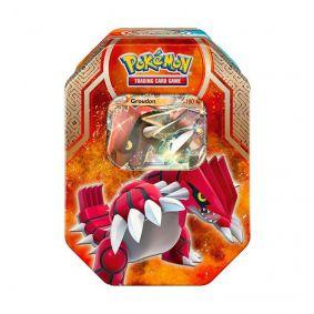 Pokémon TCG: Lata Colecionável Lendas de Hoenn - Groudon EX