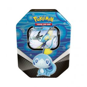 Pokémon TCG: Lata Colecionável Parceiros de Galar - Inteleon V