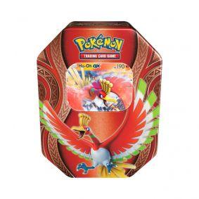Pokémon TCG: Lata Colecionável Poderes Misteriosos - Ho-Oh GX