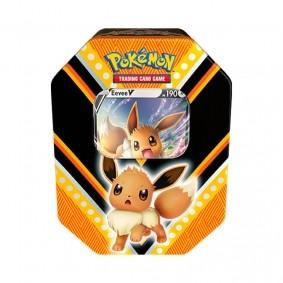 Pokémon TCG: Lata Colecionável Poderes V - Eevee V