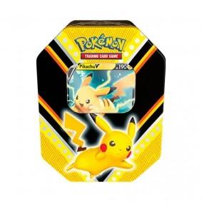 Pokémon TCG: Lata Colecionável Poderes V - Pikachu V