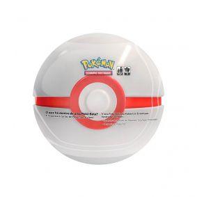Pokémon TCG: Lata Colecionável Poké Bola (Premier Ball/Bola Prêmio)