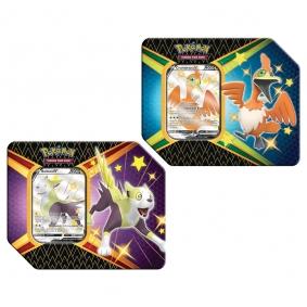 Pokémon TCG: Latas Colecionáveis Destinos Brilhantes - Cramorant V + Boltund V