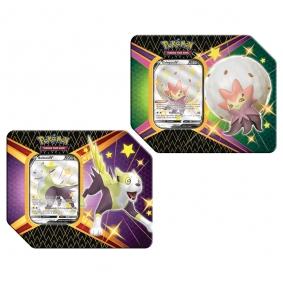 Pokémon TCG: Latas Colecionáveis Destinos Brilhantes - Eldegoss V + Boltund V