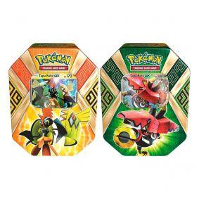 Pokémon TCG: Latas Guardiões Das Ilhas - Tapu Koko GX + Tapu Bulu GX