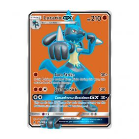 Pokémon TCG: Lucario GX (122/131) - SM6 Luz Proibida
