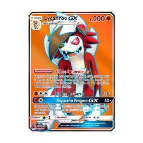 Pokémon TCG: Lycanroc GX (138/145) - SM2 Guardiões Ascendentes