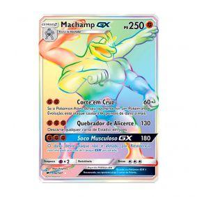Pokémon TCG: Machamp GX (154/147) - SM3 Sombras Ardentes