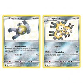 Pokémon TCG: Magnemite (SV27/SV94) + Magneton (SV28/SV94) - SM11.5 Destinos Ocultos