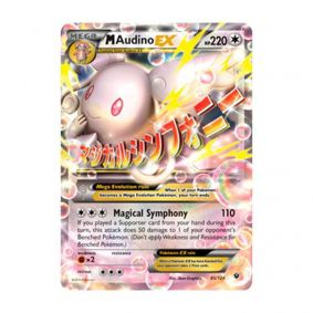 Pokémon TCG: Mega Audino EX (85/124) - XY10 Fusão de Destinos